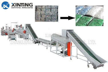 Waste PET Bottle Recycling Machine Bottle Flakes Cleaning Line Automotive